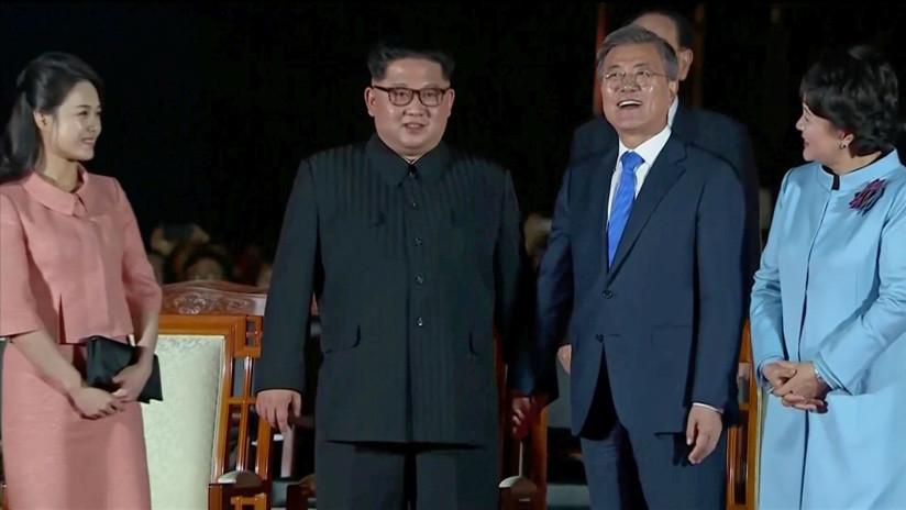 VIDEO: Ceremonia de clausura de la histórica visita de Kim Jong-un a Corea del Sur