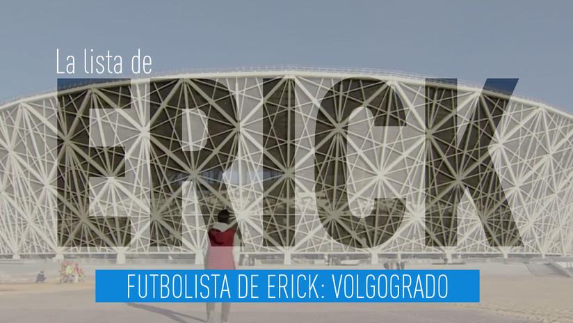 Futbolista de Erick: Volgogrado