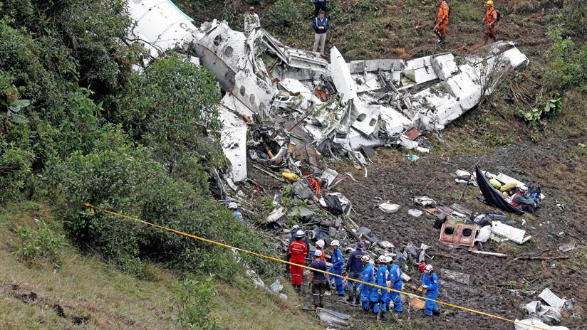 La versión oficial explica qué causó la tragedia del avión del equipo de fútbol Chapecoense