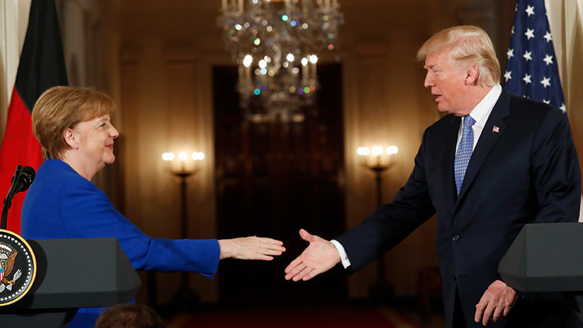 Merkel: Alemania y EE.UU. comparten una misma postura respecto a las acciones de Rusia en Siria