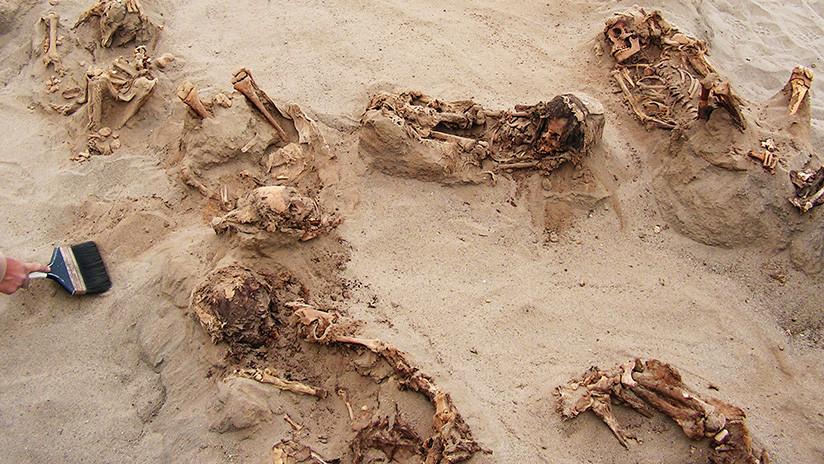 Macabro hallazgo en Perú: restos de 140 niños revelarían el mayor sacrificio infantil de la historia