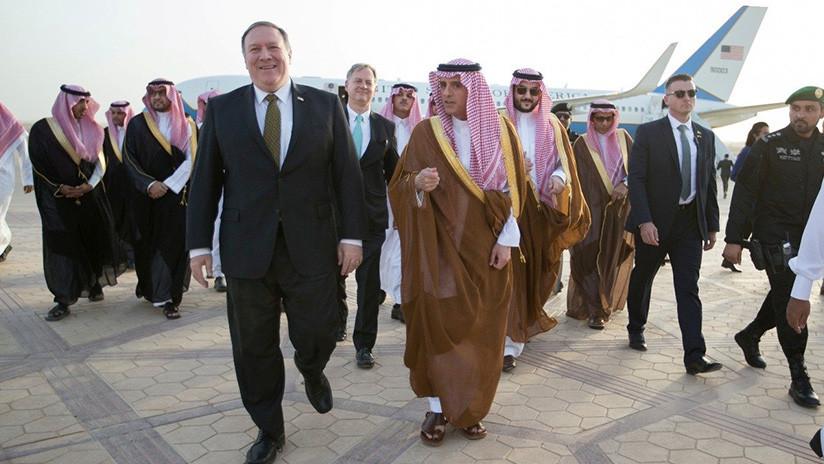 Pompeo aterriza en Arabia Saudita e inmediatamente pide nuevas sanciones contra Irán