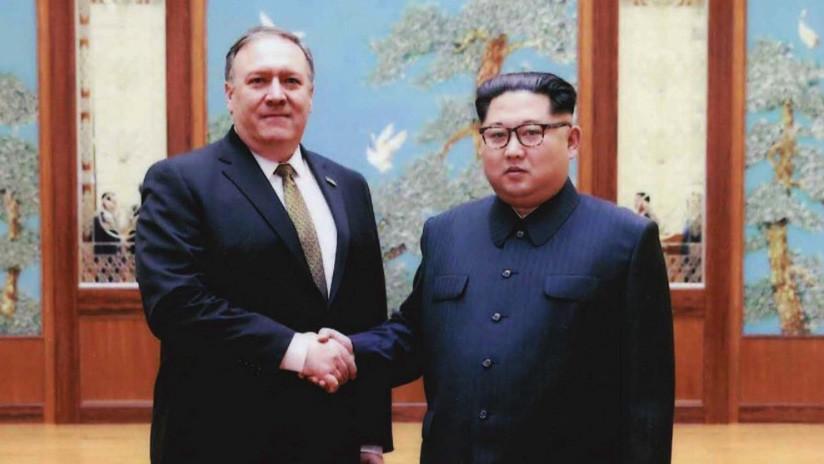 "Pompeo: ""Kim Jong-un está preparado para ayudarnos a lograr la desnuclearización"""
