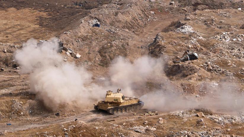 Las tropas sirias toman varias aldeas al este del Éufrates