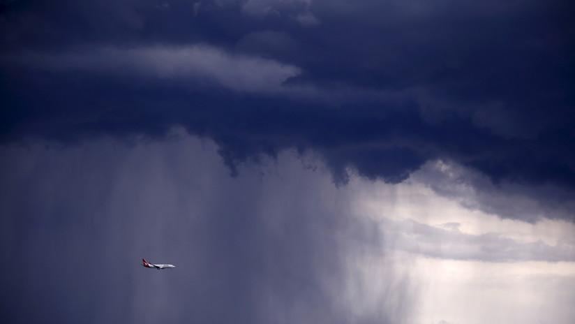 VIDEO: Fuerte tormenta provoca demoras y cancelaciones en aeropuertos de Argentina