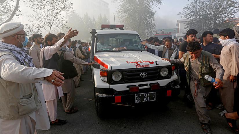 Doble atentado suicida en Kabul deja al menos 29 muertos
