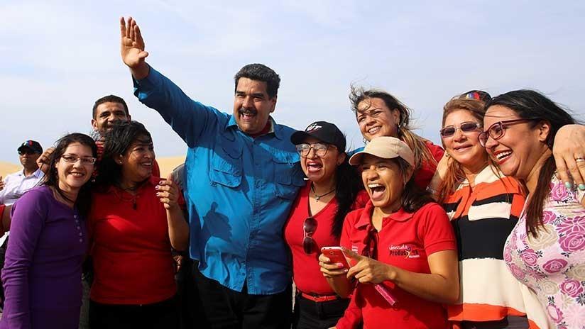 """Venezuela: Maduro decreta aumento salarial del 95% en medio de """"brutal ataque"""" económico"""