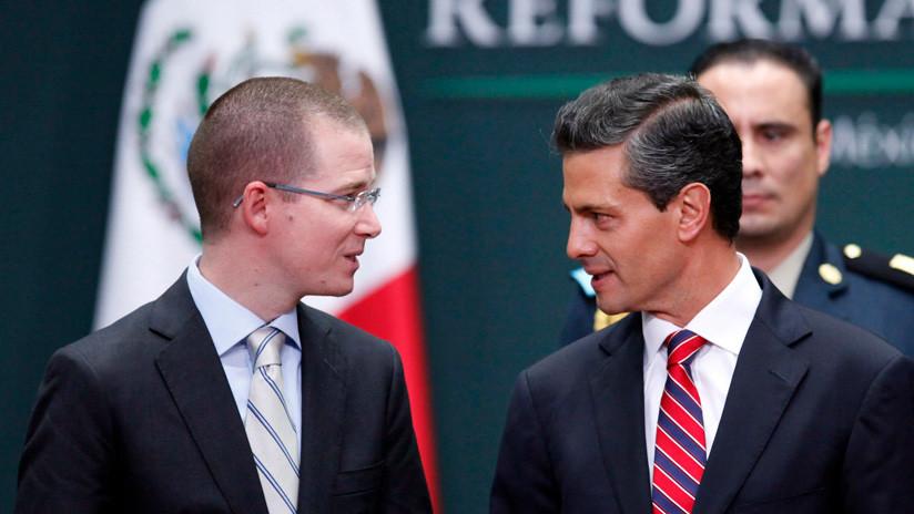 """México: El candidato Anaya niega estar dispuesto a """"construir"""" una alianza con Peña Nieto"""