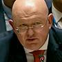 El representante permanente de Rusia ante la ONU, Vasili Nebenzia