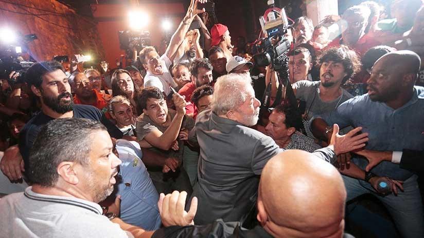 Lula proclama su inocencia y acusa: el juez Moro