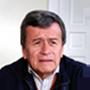 Pablo Beltrán, comandante del Ejército de Liberación Nacional y referente en los diálogos de paz.