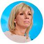 María Zajárova, portavoz del Ministerio de Exteriores ruso.