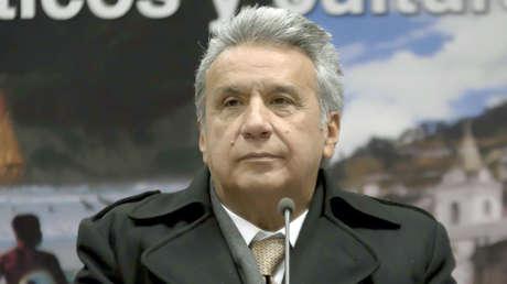 Presidente Moreno visita a los residentes ecuatorianos en Madrid, España, 17 de diciembre de 2017.