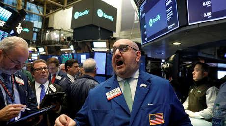 Bolsa de Valores de Nueva York, Estados Unidos, el 3 de abril de 2018.