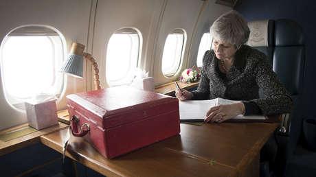 La primera ministra del Reino Unido, Theresa May.