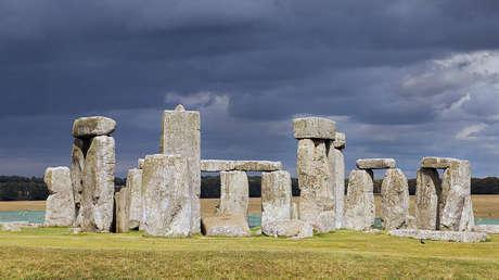 Stonehenge, en el Condado de Wiltshire, Inglaterra.