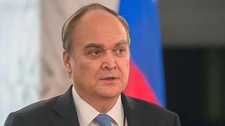 El embajador de Rusia en EE.UU., Anatoli Antónov.