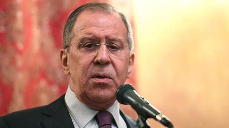 Serguéi Lavrov, ministro de Exteriores de Rusia.
