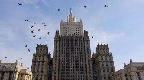 El Ministerio de Exteriores de Rusia, Moscú.