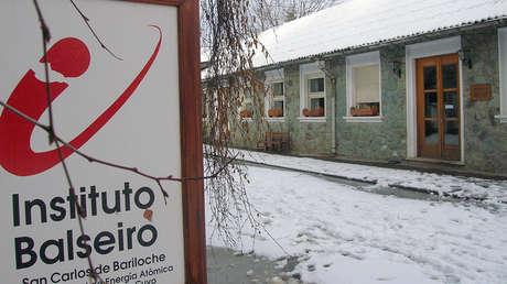Instituto Balseiro, en una foto tomada en el invierno de 2007.