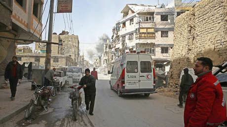Duma, Siria, el 19 de marzo de 2018.