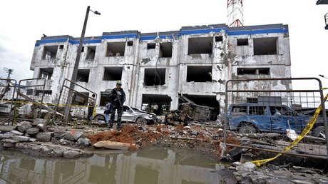 Atentado con coche bomba en San Lorenzo, Esmeraldas, atribuido a el 'Guacho', 28 de enero de 2018.