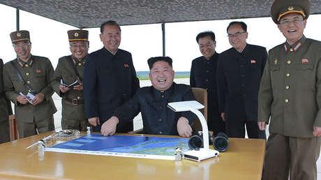 El líder norcoreano Kim Jong-un en Pionyang, el 30 de agosto de 2017.