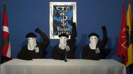 Miembros de ETA en una imagen de un video sin fecha, publicada en 2011 en el diario vasco Gara.