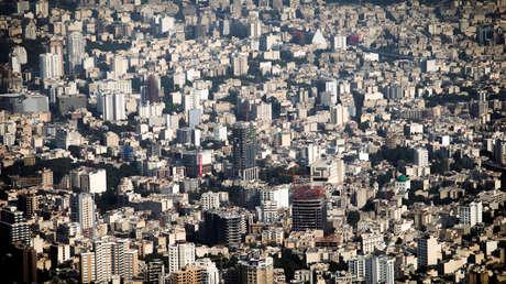 Vista general de la ciudad de Teherán, Irán el 3 de agosto de 2017.