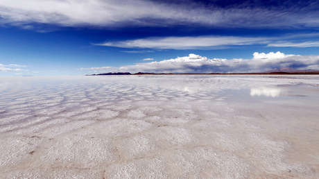 Salar de Uyuni, Potosí, Bolivia, 11 de enero de 2014.