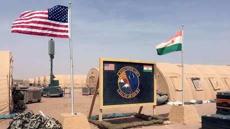 Acampamento para a Força Aérea dos EUA, Agadez, Níger, 16 de abril de 2018.