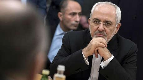 El ministro iraní de Exteriores, Mohamad Yavad Zarif, durante su visita en Moscú, Rusia, el 10 de enero de 2018.