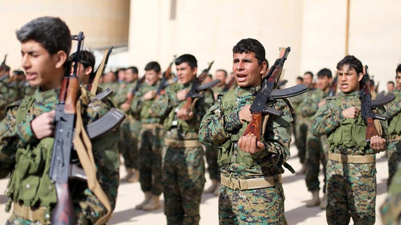 Las milicias kurdo-sirias retienen a más de 400 combatientes extranjeros del Estado Islámico