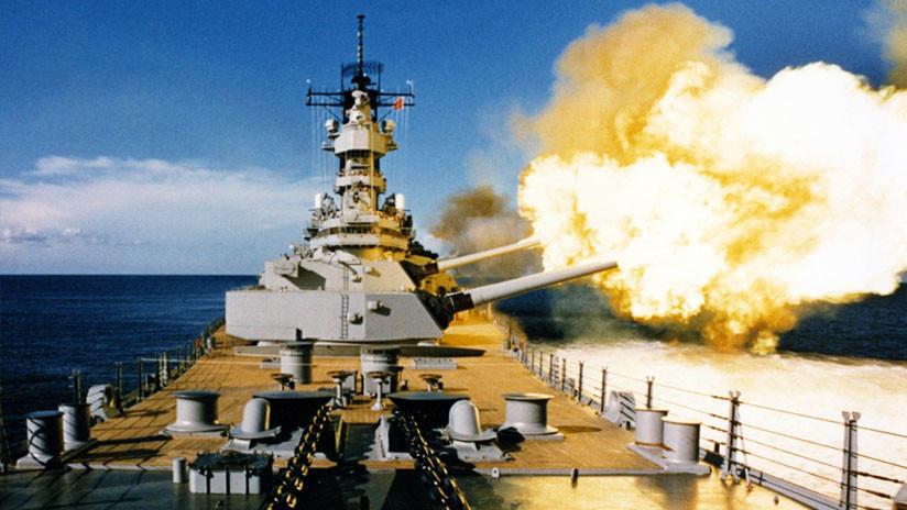 ¿Podría un acorazado clase Iowa destruir un tanque Abrams de EE.UU.?