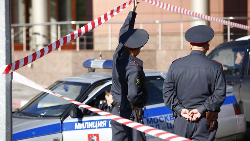 VIDEO: Los últimos segundos antes del brutal asesinato de una estudiante en Moscú