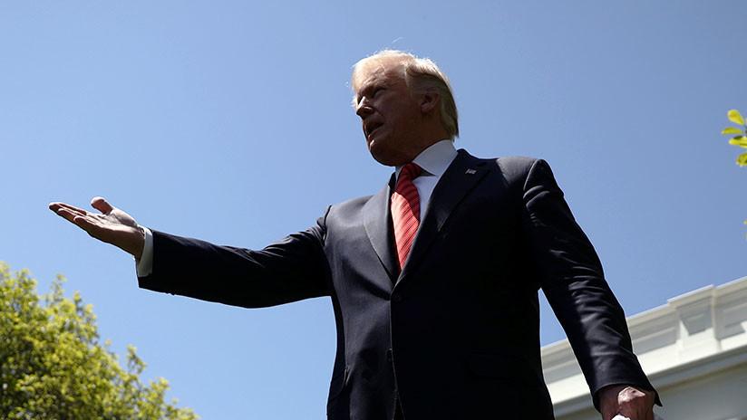 """""""¿Se derretirá?"""": Tallarán la cara de Trump en un iceberg por su visión respecto al cambio climático"""
