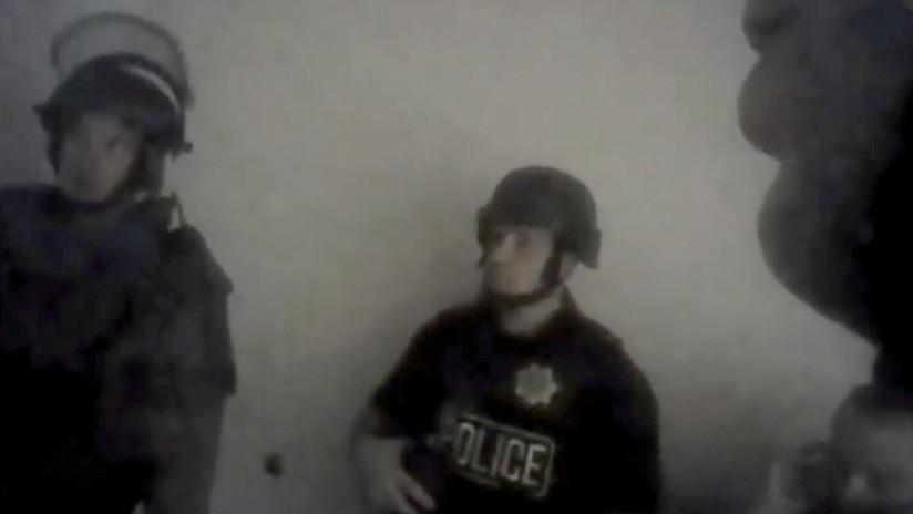 #Video Policías irrumpen en habitación de tirador de Las Vegas