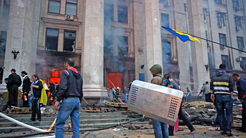 """Rusia: Como un """"consentimiento tácito"""", EE.UU. no conmemoró la tragedia del 2 de mayo en Odesa"""