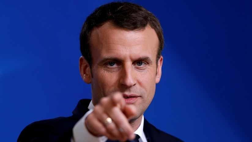 """VIDEO: Macron llama """"deliciosa"""" a la esposa del primer ministro australiano y esta es su reacción"""