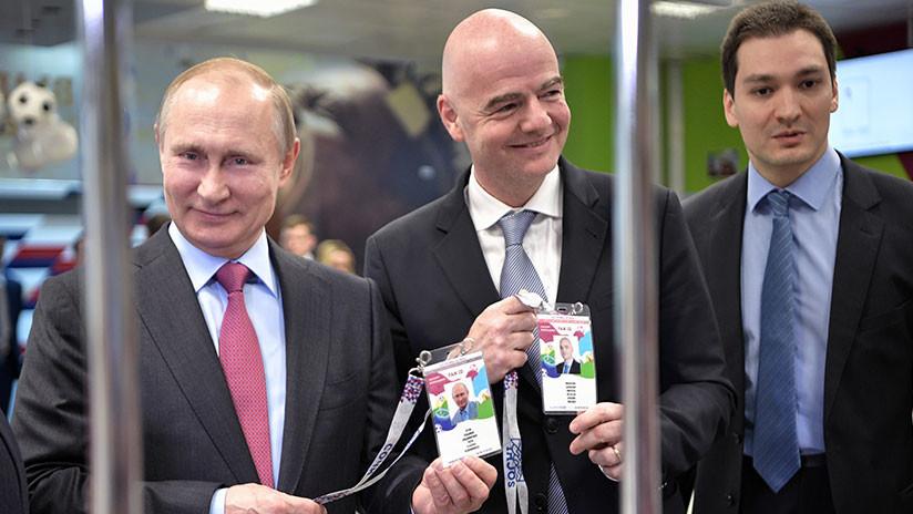 """Putin: """"Ha llegado la etapa más importante en los preparativos para el Mundial de Rusia 2018"""""""