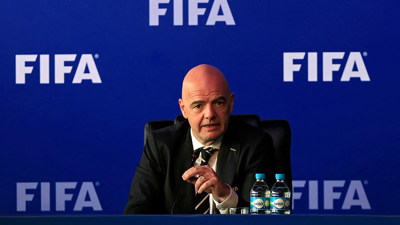 "Gianni Infantino: ""Rusia está completamente preparada para el Mundial 2018"""