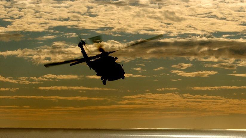 ¡Doble suerte! Primero gana la lotería y luego se salva por los pelos al caer en helicóptero (FOTO)