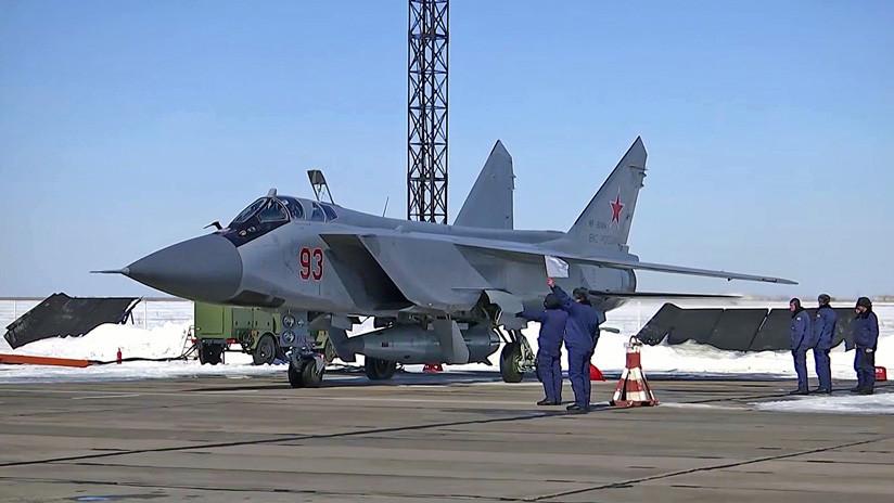 Rusia presentará su nuevo sistema de misiles hipersónicos 'Kinzhal' en el Día de la Victoria