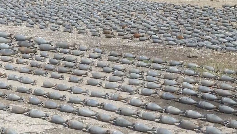 Siria: Hallan en Duma minas de países de la OTAN (VIDEO)