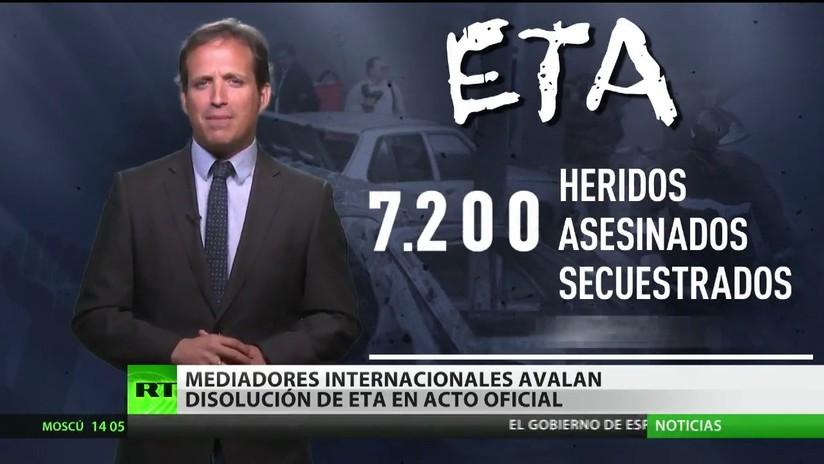 Mediadores internacionales avalan en un acto oficial la disolución de ETA