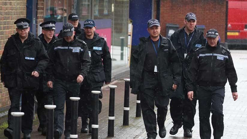 FOTO: Acordonan el centro de la ciudad de Salisbury por un paquete sospechoso