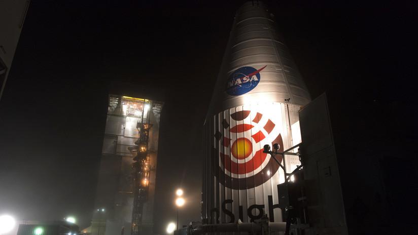 """El InSight de la NASA está listo para partir hacia Marte y """"mirar por dentro"""" al planeta rojo"""