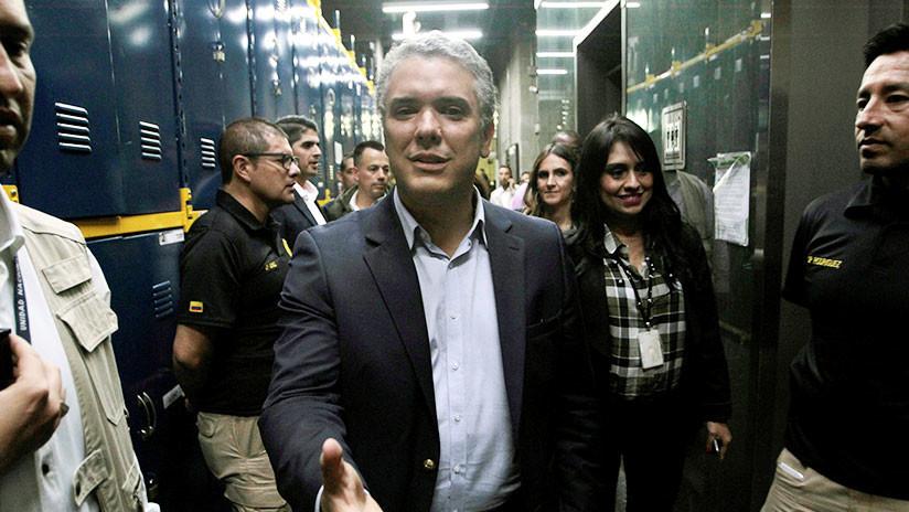 Colombia: El derechista Iván Duque lidera la intención de voto para las presidenciales