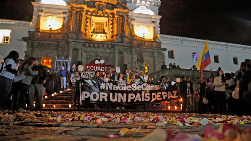 Ecuador: Sin noticias de secuestrados en la frontera y aún no se recuperaron cuerpos de periodistas