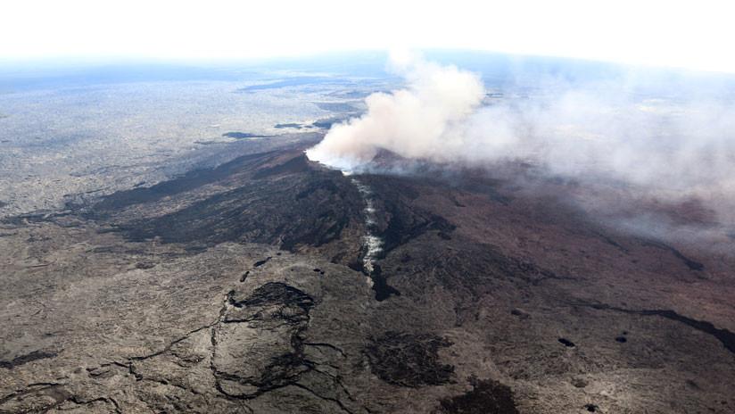 Hawái: Registran una erupción en una nueva fisura del volcán Kilauea